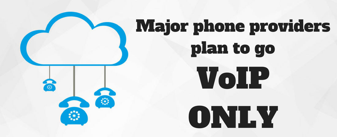 Major phone providers are to go VoIP-only - Halo Connect